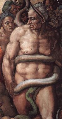 minos-judge-underworld-michelangelo-last-judgment